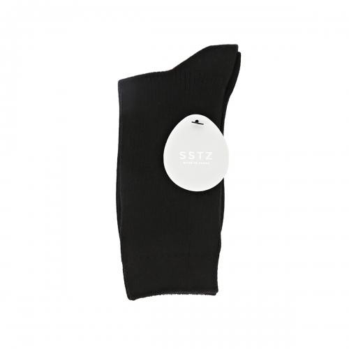 SSTZ COLOR RIB : BLACKSOCKSTAZ