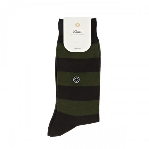 (Standard) Rugby Stripe: KhakiEtzel