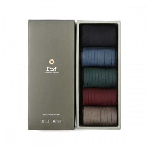 Etzel Sartorial Silket Rib 5P 기프트세트 (선택)Etzel