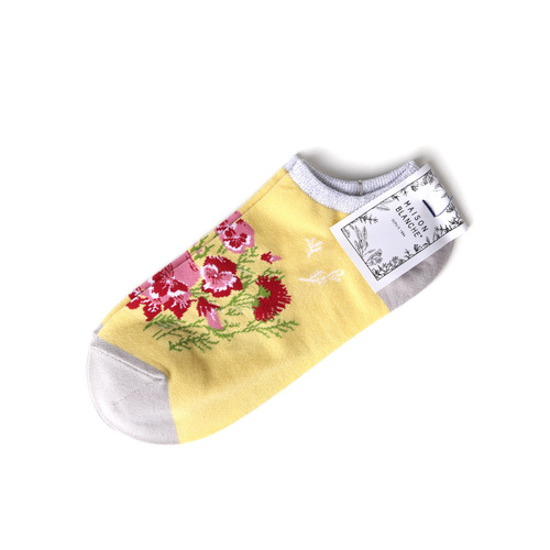 MSB010 Sneakers Flower : yellowMAISON BLANCHE